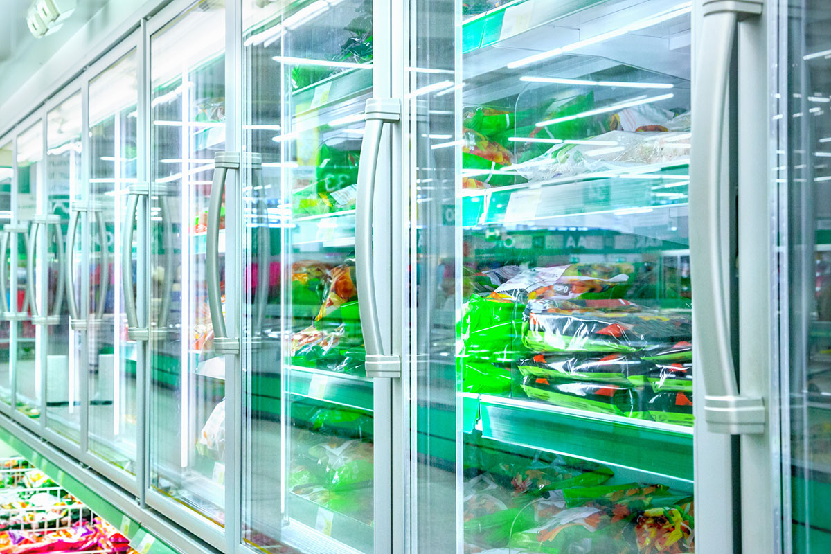LED lighting for retail freezers