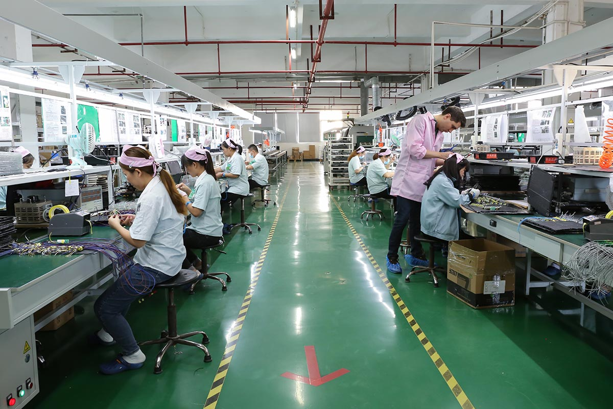 ledteck lighting factory in China