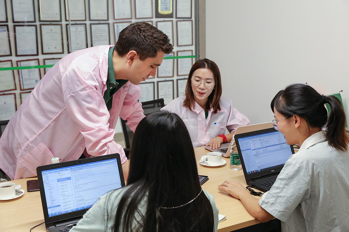 Ledteck office in China