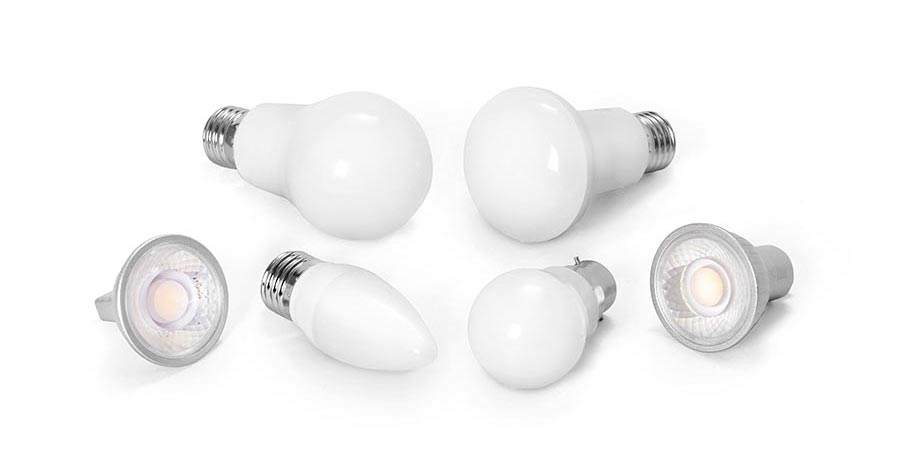 White labelled LED bulbs