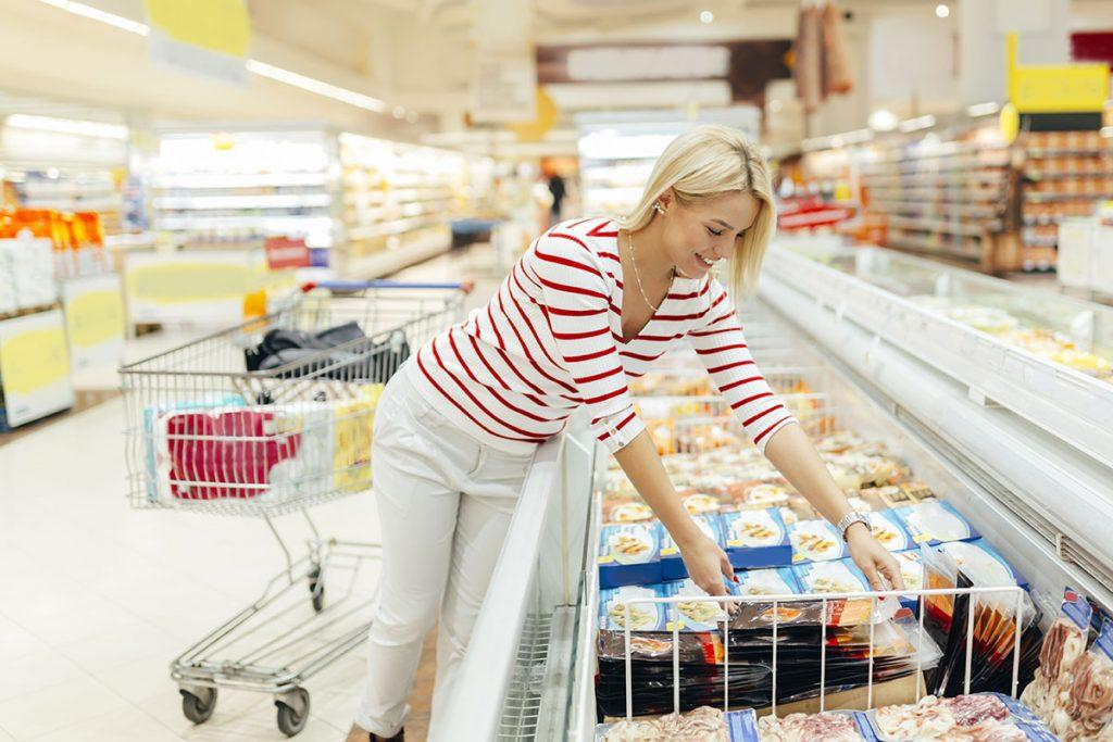 supermarket fridge lighting